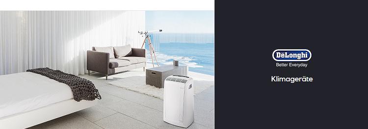 DeLonghi im Two Day Sale   z.B. Klimagerät PAC EX 100 Silent für 672,90€ (statt 790€)