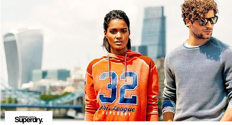Top! Superdry Damen und Herren Fashion Sale bis 65% Rabatt bei Vente Privee