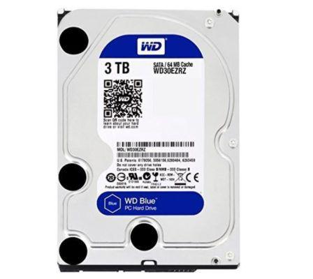 WD Blue 3TB Interne Festplatte SATA 6 Gb/s für 57,99€ (statt 81€)