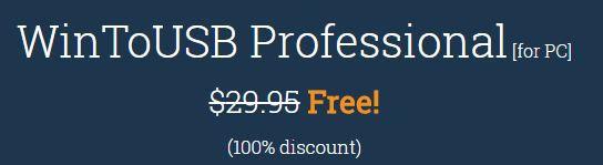 WinToUSB Professional (Lifetime Lizenz, Windows) kostenlos