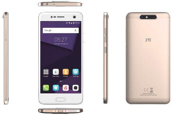 ZTE Blade V8   5,2 Smartphone mit 32GB, LTE und Dual Sim für 124,95€ (statt 149€)