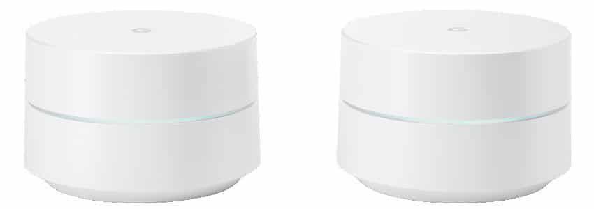 2er Pack Google Wifi Router für 156,75€ (statt 211€)