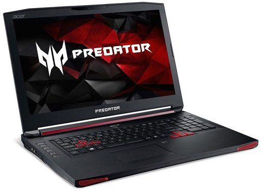 Acer Predator 17X (GX 791 73KD)   17,3 Notebook mit 256GB SSD, 1TB HDD, GeForce GTX980M für 1.199,99€ (statt 1.500€)