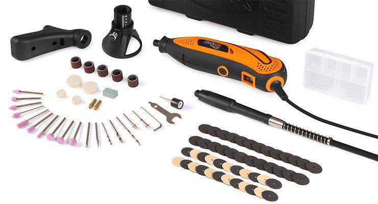 Tacklife RTD35ACL   Multifunktionswerkzeug mit 80 Teilen für 22,29€ (statt 38€)   Prime