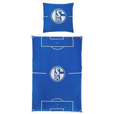 Schalke 04 Bettwäsche (135x200cm) für 31,96€ (statt 40€)
