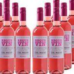 Requevin Bodegas Coviñas – 12 Flaschen trockener Rose Wein für 39,96€