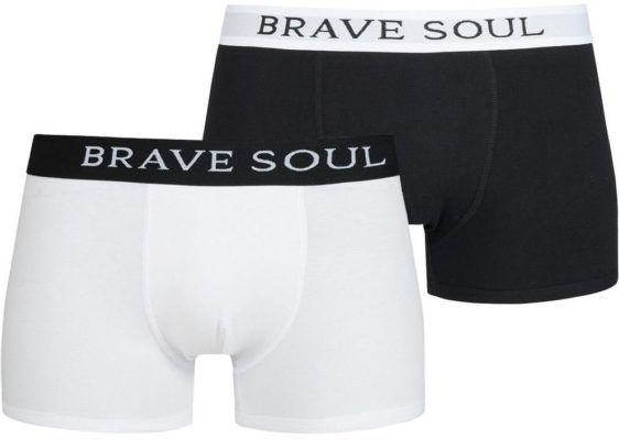 BRAVE SOUL Brook 2 er Pack Boxershorts für 4,44€ + VSK