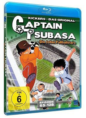 Captain Tsubasa – Die tollen Fußballstars (Episoden 65 128 als Blu ray) für 15€ (statt 20€)