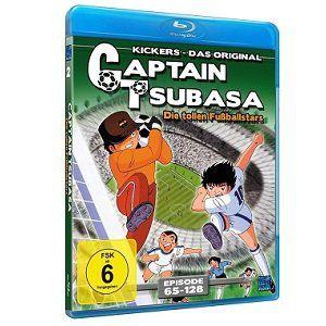 Captain Tsubasa – Die tollen Fußballstars (Episoden 65 128 als Blu ray) für 15€ (statt 22€)