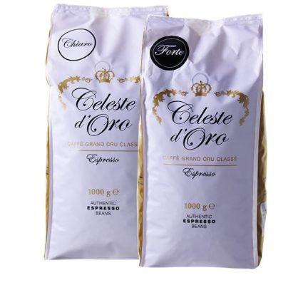 2kg Celeste dOro Probierpaket Kaffeebohnen für 28,94€ + free Vorratsbox Celeste dOro (Wert 16€)