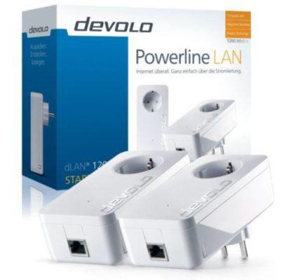 devolo dLAN 1200+ Starter Kit wie neu für 66€ (statt 106€)
