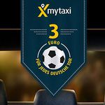 Gratis: MyTaxi WM Gutschein: 33% Rabatt auf eine Taxifahrt bis Sonntag