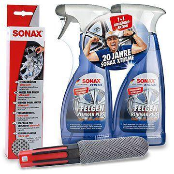 2x Sonax Xtreme Felgenreiniger 500ml + Bürste für 17,79€