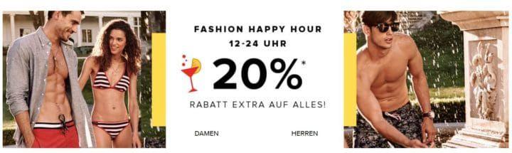 Bis 24Uhr: dress for less Happy Hour bis 70% Rabatt + 20% extra Rabatt auf alles z.B. Hilfiger Poloshirts ab 42€