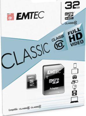Emtec microSDHC 32GB Class10 Classic Speicherkarte für 8€