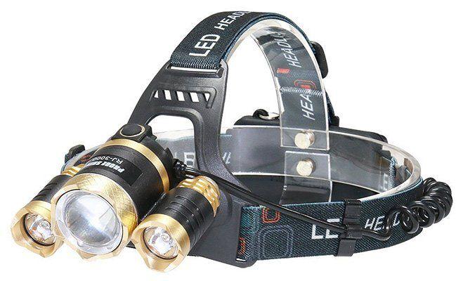HiWild LED Stirnlampe mit 4 Modi für 12,99€ (statt 26€)