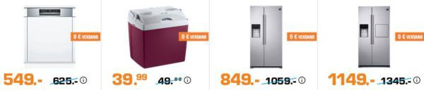 Saturn Weekend Sale: günstige TVs, Audio & Haushaltsgeräte z.B. MOBICOOL V26 AC/DC Kühlbox für 39,99 (statt 56€)