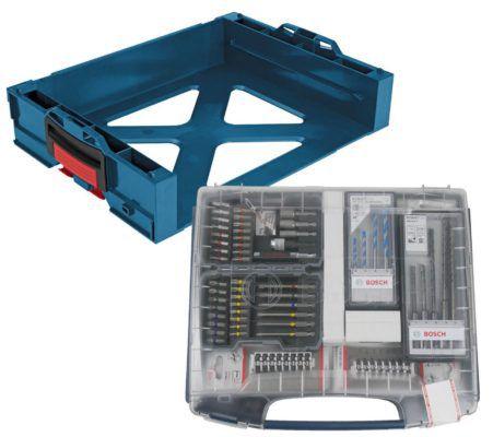Bosch I Boxx active rack Professional + 68tlg. Zubehör Set für 49,90€