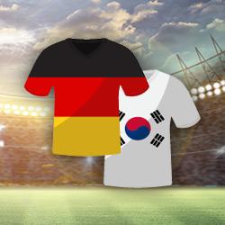 Abgelaufen! Deutschland vs. Südkorea: 1€ einzahlen & 20€ Wettbonus abstauben (nur Neukunden)
