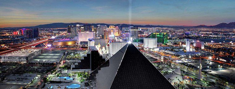 8 Tage in Las Vegas im 4* Luxor Hotel inkl. Flug ab 420€ p.P.