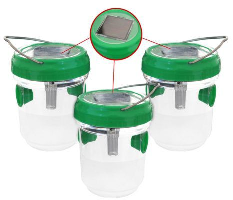 3er Set Solar Mücken  Wespenfalle für 9,99€
