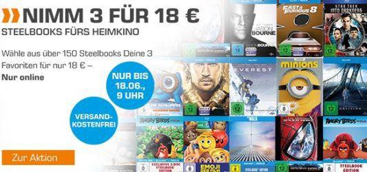 Saturn Entertainment Weekend Deals: z.B. Nolan Collection (4K Ultra HD Blu ray + Blu ray) für 84,99€ (statt 150€)