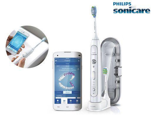 Philips HX9192/01 Sonicare FlexCare Platinum   Connected Zahnbürste für 89,95€ (statt 124€)