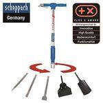 Scheppach AERO² SPADE – Druckluftspaten 5in1 Universalwerkzeug + 5 tlg. Zubehör für 109,65€ (statt 139€)