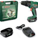 Bosch PSB 14,4 LI-2 Schlagbohrmaschine mit 2 Akkus & Ladegerät für 119,95€ (statt 158€)