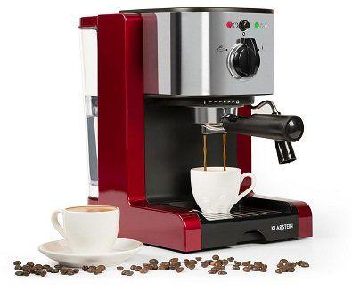 Klarstein Passionata Rossa   Espressomaschine mit 15 bar für 89,99€ (statt 98€)