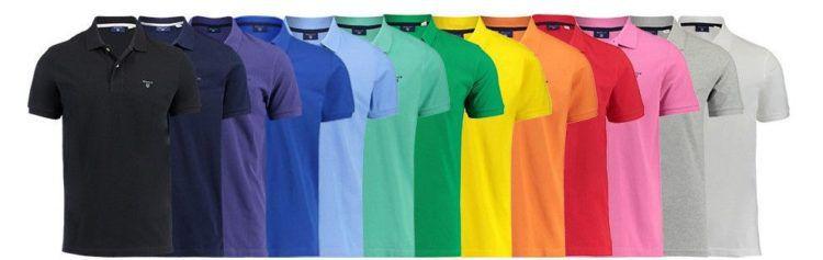 Gant Herren Kurzarm Poloshirt The Summe Pique für je 33,91€ (statt 49€)