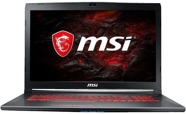 MSI GV72 7RD 1005DE   17,3 Gaming Notebook (i7 Prozessor, 1 TB HDD & 256 GB SSD) für 899€ (statt 1.149€)