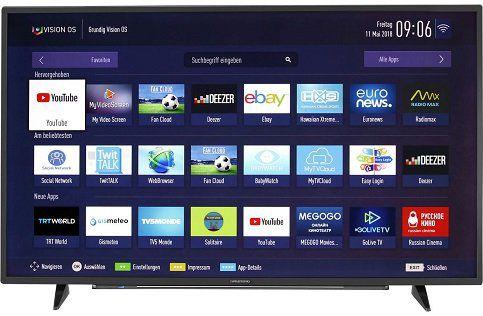 Grundig 55 VLX 7810    4K Fernseher mit Smart TV Funktion, 55 für 439€ (statt 989€)
