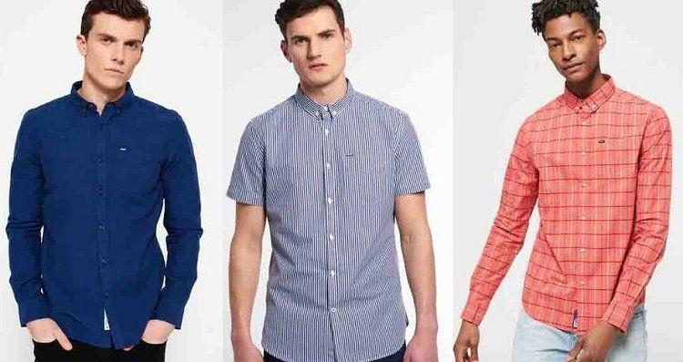 Damen und Herren Superdry Hemden für je 27,95€