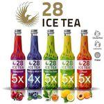 24 x  28 Ice Tea (je 0,33 l) – Probiermix aus fünf Sorten (MHD: 07.09.) für 23,90€