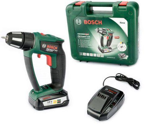 Bosch Li Ion Akkubohrschrauber PSR Expert+ für 119,95€ (statt 170€)