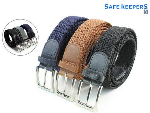 3er Set Safekeepers Elastische Gürtel für 25,90€ (statt 32€)