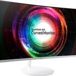 Samsung C32H711Q – 32″-Monitor (Curved, FreeSync) für 299€ (statt 392€)