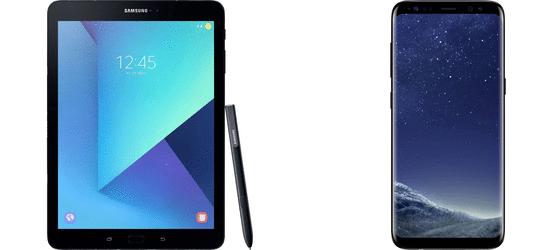 Samsung Galaxy S8 + T820 Galaxy Tab S3 9.7 für 1€ + Magenta Mobil M Allnet Flat ab 39,93€