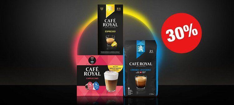 Café Royal mit 30% Rabatt (MBW: 39€)   VSK frei