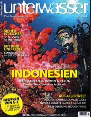 Unterwasser Jahresabo für nur 14,95€ (statt 87,60€)