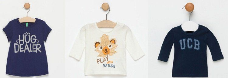 United Colors of Benetton Kinder Sale bei Vente Privee   z.B. Shirts ab 2,99€