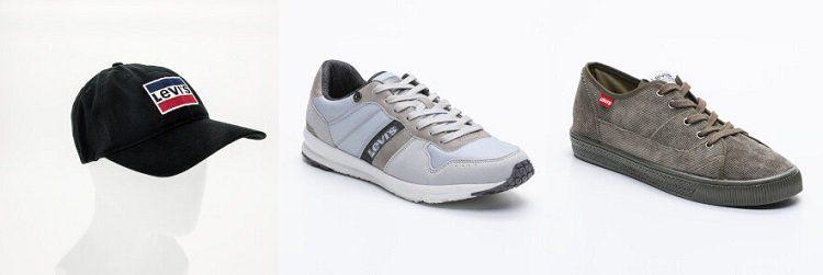 Levis Sneaker und Accessoires im Sale bei Vente Privee   z.B. Sneakers Baylor ab 29,99€ (statt 42€)