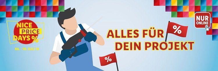 20% Rabatt auf Elektro , Gartenwerkzeuge und Malerzubehör bei LIDL