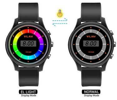 XREXS Kinderarmbanduhr mit Regenbogen Display für 8,99€ (statt 15€)