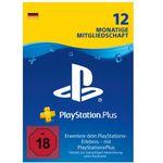 PlayStation Plus (12 Monate) ab 41,99€ (statt 52€)