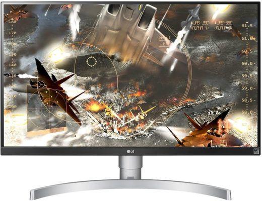 LG 27UK650 W   27 Monitor (4K, HDR, FreeSync) für 444€ (statt 523€)