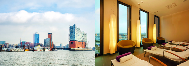 ÜN im 4,5* Hotel in Hamburg inkl. Frühstück, SPA und Fitness ab 71€ p.P.