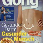 """Jahresabo """"Gong"""" für 114,40€ + 110€ Verrechnungsscheck + 6€ Sofort-Rabatt"""