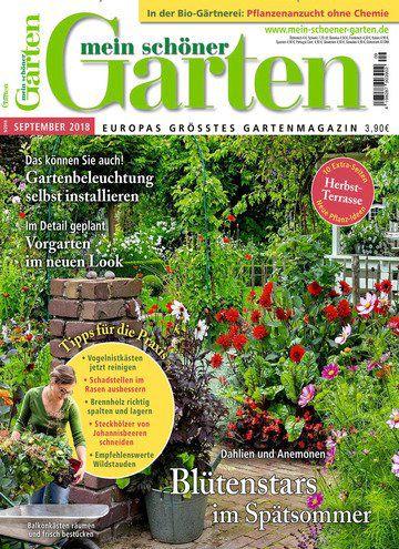 12 Ausgaben mein schöner Garten für 51,60€ inkl. 40€ Verrechnungsscheck + 6€ Sofort Rabatt